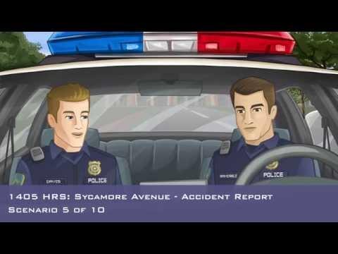 Virtual Police Ride-Along - Scenario 5 - Traffic Crash Report