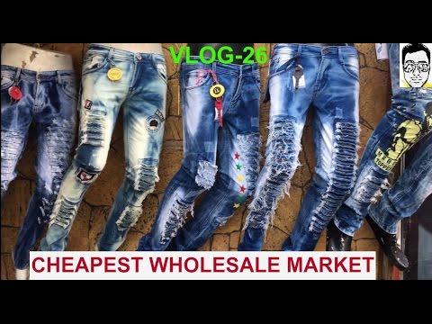 TANK ROAD[150rs-jeans,shirts] WHOLESALE MARKET-BOYS/GIRLS |part-1| DELHI