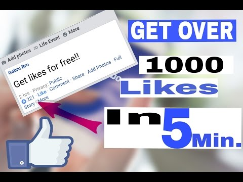 How to get more likes on Facebook Photo/Post? The best Autoliker!! (Hindi/Urdu)