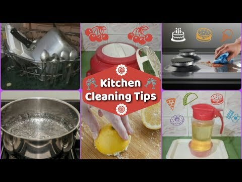 16 amazing kitchen cleaning tips | Useful Tips & Tricks for a Clean Kitchen in Hindi  | kitchen Tips