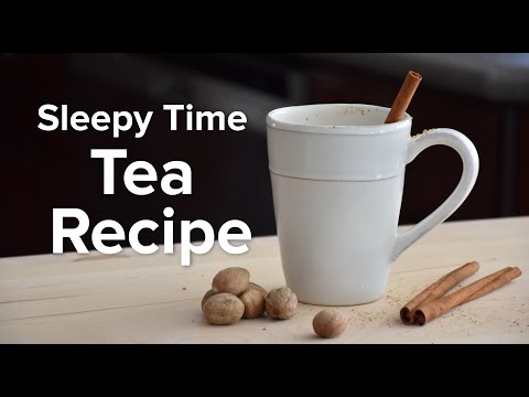 Chamomile Tea Recipe - Sleepy Time Tea