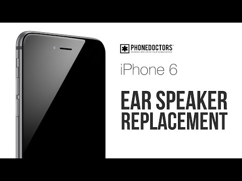 How to: iPhone 6 Ear Speaker Repair Video