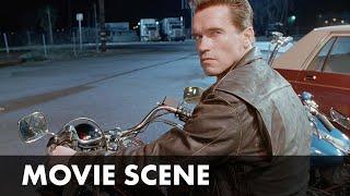 TERMINATOR 2 (1991)   Truck-chase Scene   Starring Arnold Schwarzenegger