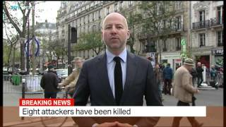 TRT World - Live from Paris after deadly attacks