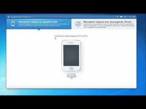 Récupérer des SMS supprimés de l'iPhone 5 ou l'iPhone 4S
