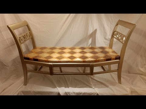Making a Bench from Old Chairs
