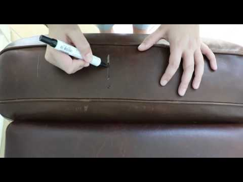 How To Restore Leather Furniture Video
