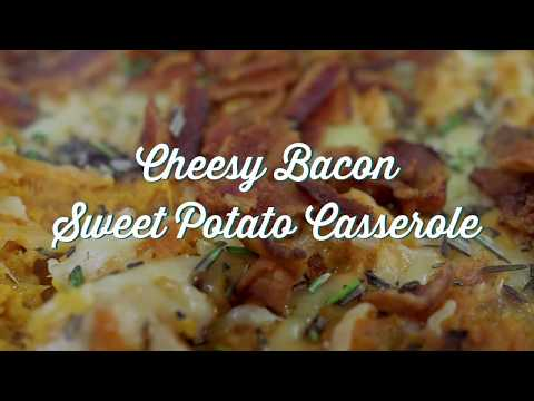 Cheesy Bacon and Sweet Potato Casserole - Paula Deen at the Southern Table
