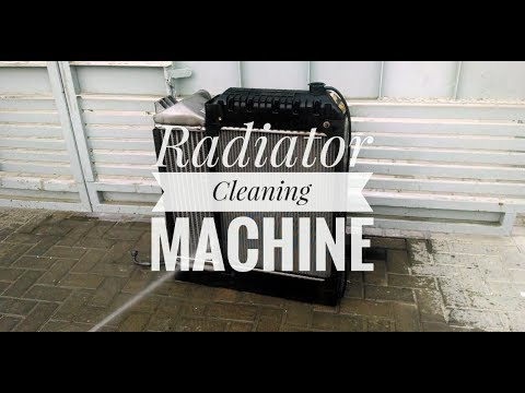 Radiator Cleaning Machine in hindi   How to clean radiator at home   Basic Knowledge