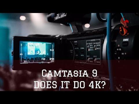 Camtasia 9 - Does It Do 4K?