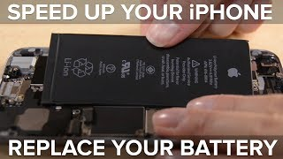 It's Not You, It's Your Battery—Apple Confirms iOS Update Slows Performance