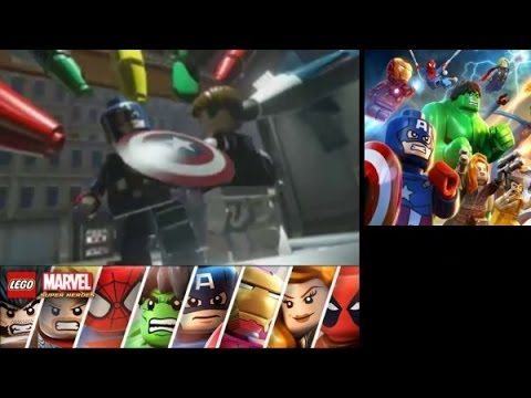 LEGO Marvel Super Heroes: Universe in Peril (3DS/Vita) Walkthrough Part 9 - Stark Tower