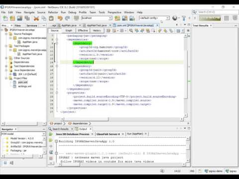 IPGRAY : how to create junit test case in netbeans