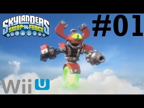 Skylanders SWAP Force Wii U Co-Op -- Chapter 1: Mount Cloudbreak