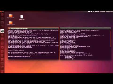 Setup git server and client locally in ubuntu