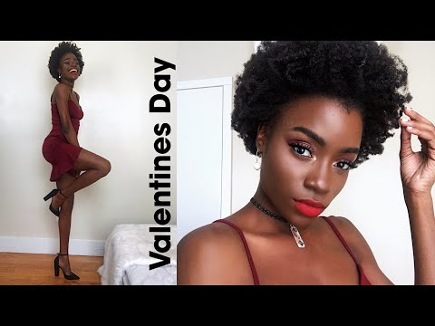 VALENTINES DAY OUTFIT GET READY WITH ME