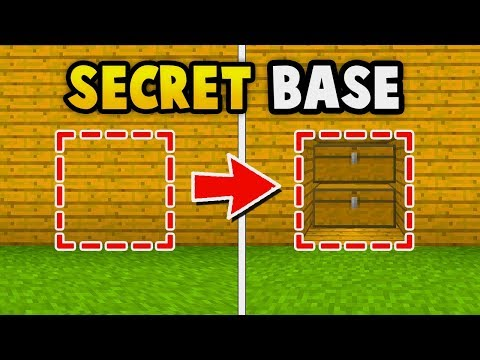Minecraft : EASY SECRET BASE TUTORIAL (Ps3/Xbox360/PS4/XboxOne/WiiU)