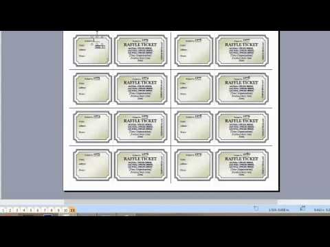 How to Add More Pages for a Raffle Ticket in Microsoft Publi... : Microsoft Graphic Design Programs