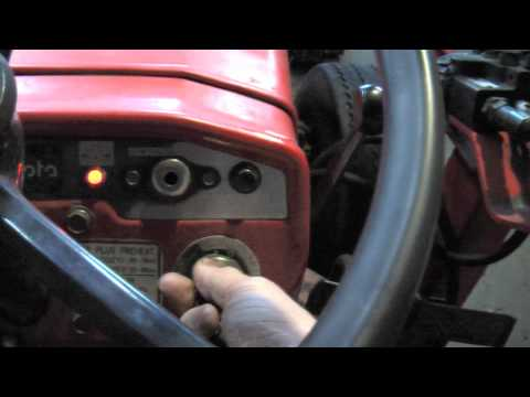 Take the Kubota Diesel Tractor for a Drive