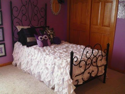 DIY: Ruffled Bedspread