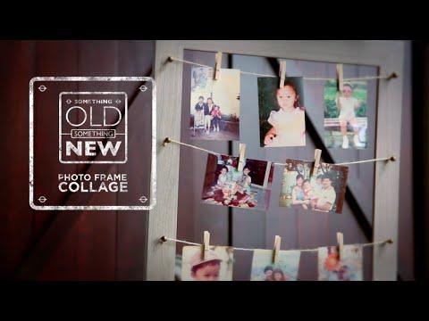 Ep 7: Photo Frame Collage | Something Old Something New | HGTV Asia