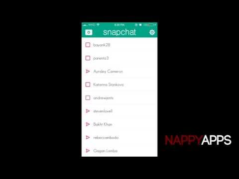 Snapchat Tutorial: Delete Unwanted Best friends (HD) (No Jailbreak)