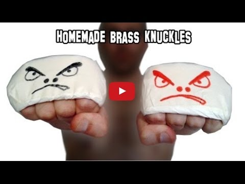 How To Make Knuckle Dusters/Brass Knuckles (HD)