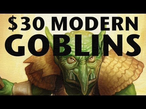 Build A Modern MTG Deck For Only $30? Go GOBLINS! Cheap Magic: The Gathering Budget Ideas