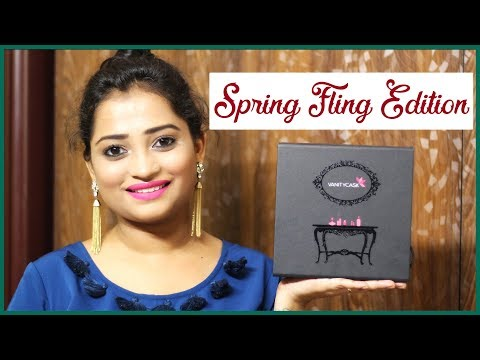 My Vanity Cask March 2018 Spring Fling Edition - Why I love this Box ?