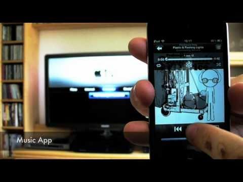 AirPlay Demo iOS 4.3 Apple TV 2G iPod touch 4G - felixba94