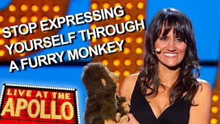 Nina Conti's Monkey Yearns for Freedom | Live at the Apollo | BBC Comedy Greats