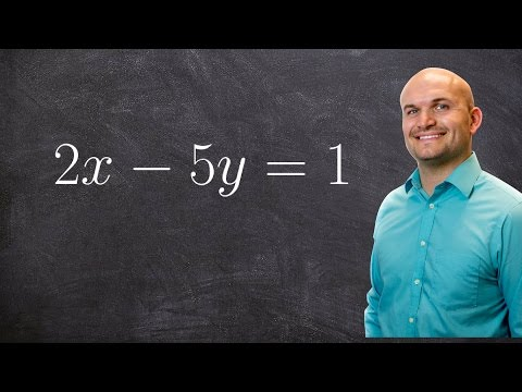How to find the x and y intercept from an equation