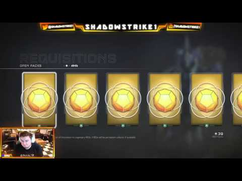 Halo 5 - 31 Gold REQ pack mass opening! ($100 in packs!)