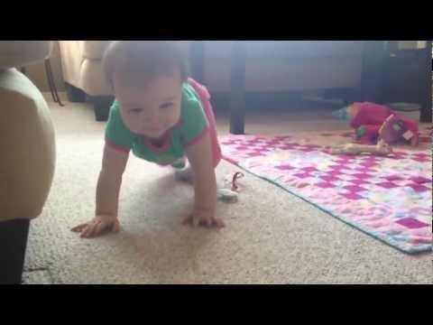 Mischa's bunny hop crawl