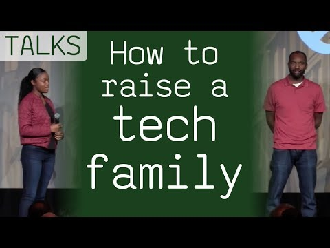 How to Raise a Tech Family, talk by 15-year-old programmer and her father