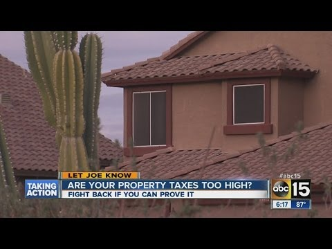Property taxes too high