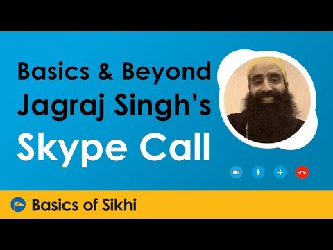 Jagraj Singh Skype Call at Basics & Beyond UK Camp 2016