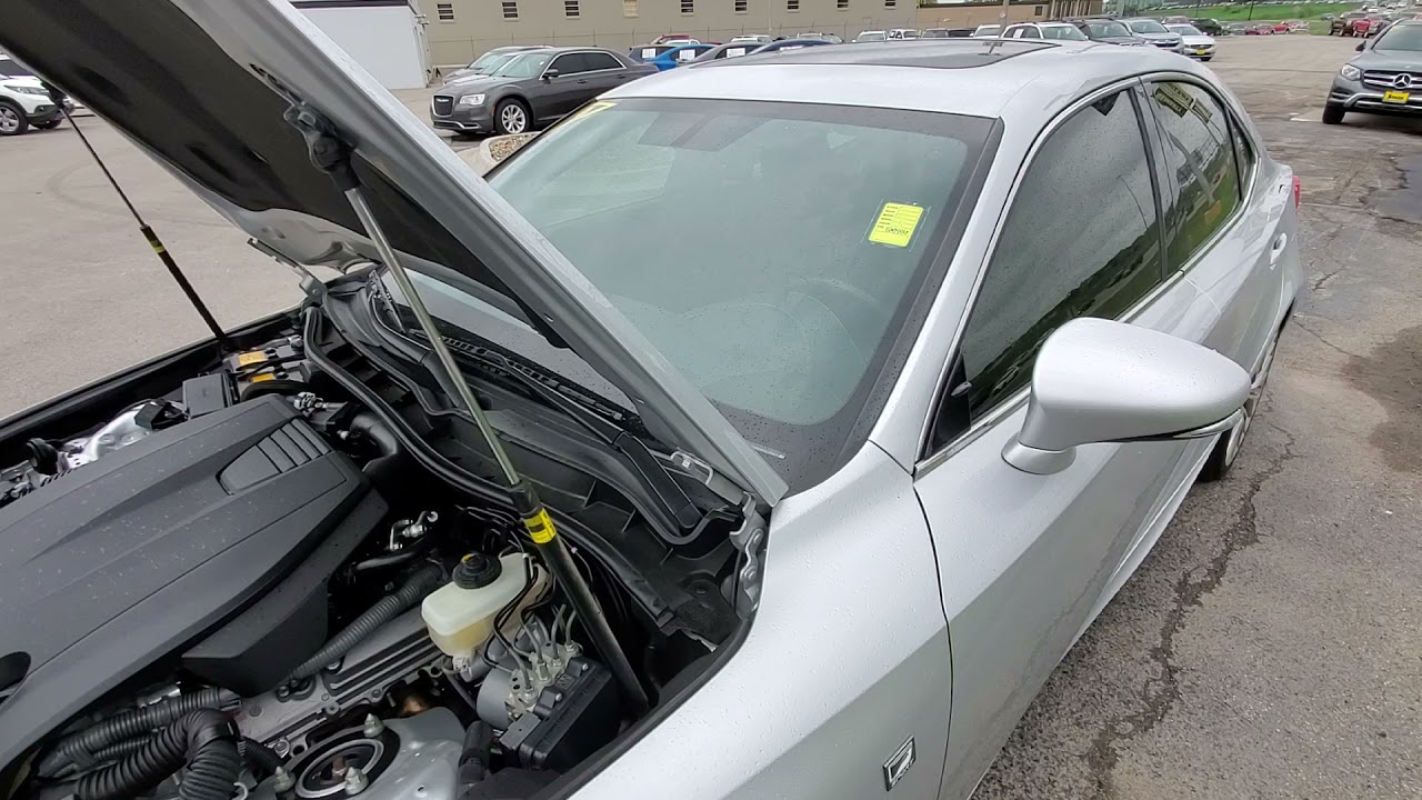 2015 Lexus IS 250 Schrier Automotive Omaha Nebraska (interior)