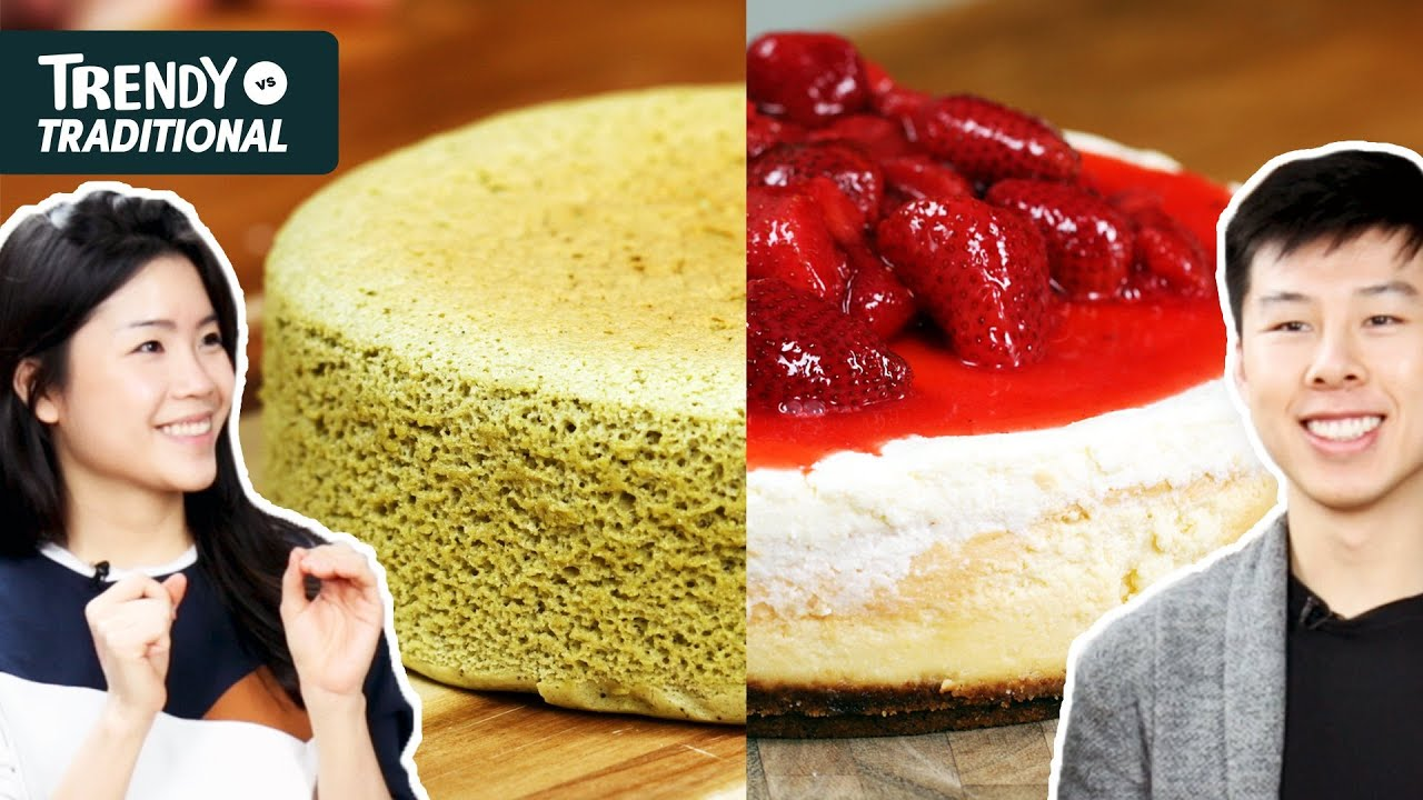 Trendy Vs. Traditional: Cheesecake • Tasty