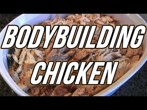 BODYBUILDING COOKING - CROCKPOT CHICKEN