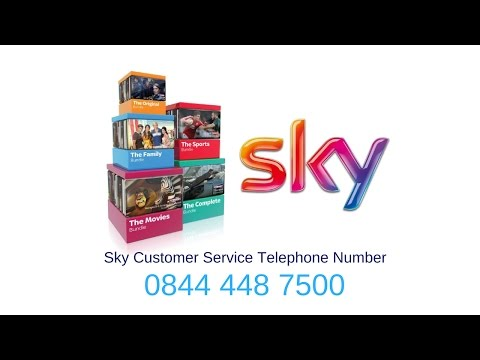 Skycable Contact Number 0844 448 7500