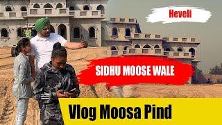 Sidhu Moose Wala - Vlog Moosa Pind - ਮੂਸੇਵਾਲੇ ਦੀ ਕਰੋੜਾਂ ਦੀ ਹਵੇਲੀ
