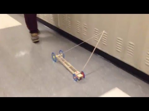 A+ Mouse-trap Car