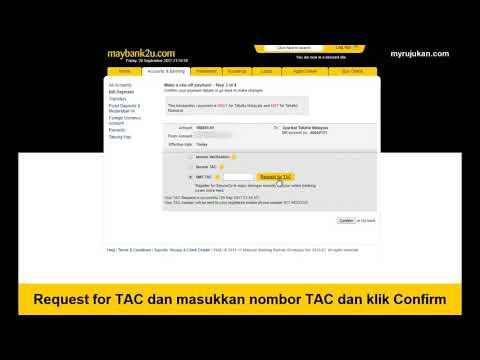 Buat Bayaran Insuran Takaful Online Melalui Maybank2u