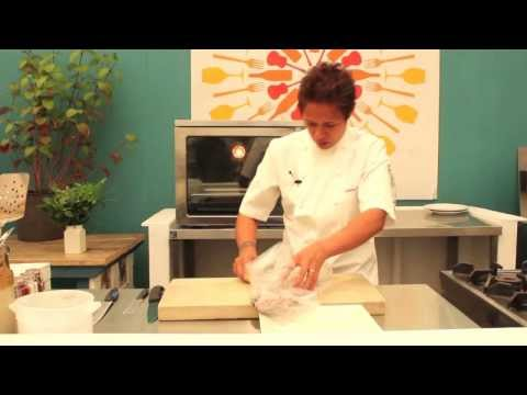 Monica Galetti: How to fillet a sea bream fish