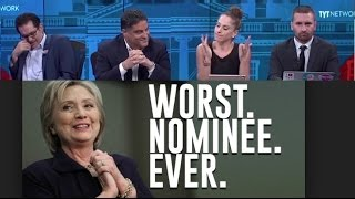 """Young Turks Call """"Hillary, The Worst Candidate In Our Lifetime"""" Election Day Meltdown!"""