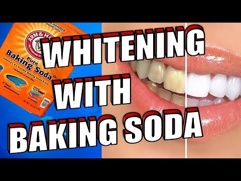 How To Easily WHITEN Your TEETH With BAKING SODA