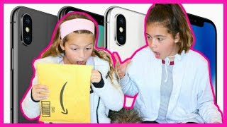 "UNBOXING MY NEW IPHONE X CASE ""SISTER FOREVER"""