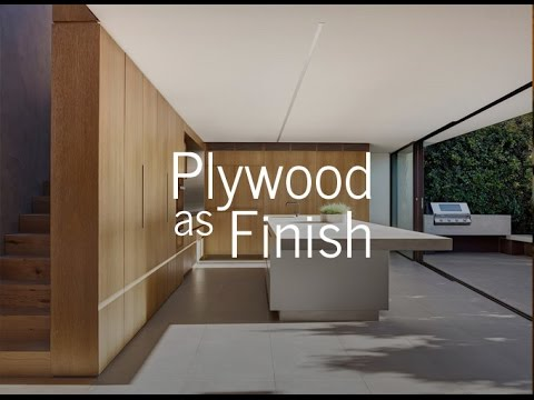 Plywood as Finish