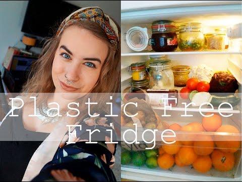 My Plastic Free Fridge // Zero Waste Lifestyle